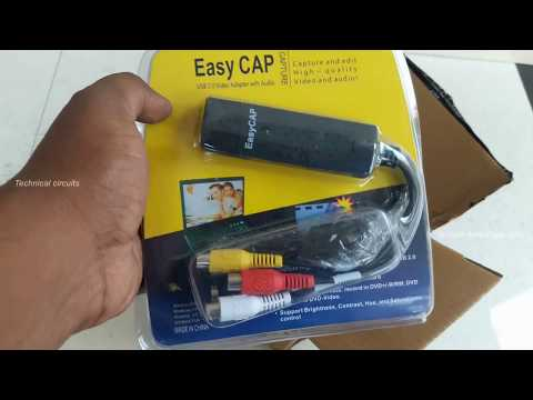 Easy cap AV to USB Video converter
