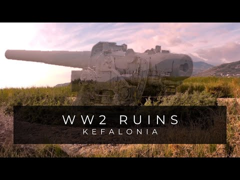 bunker - Part 1 of 2 - Hidden WW2 German bunkers and gun battery flak nest coastal defences on the island of Kefalonia Greece.Filmed and edited by Luke Brown.