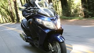 9. 2007 Suzuki Burgman Scooter First Ride - MotoUSA