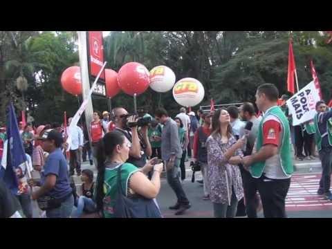 Dia Nacional de Mobilização paralisa Paulista 30 08 2013