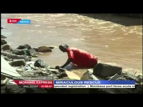 Miraculous Rescue of a 1 and half year old child  in Huruma