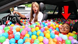 Video BALL PIT PRANK IN MY MOM'S CAR!! MP3, 3GP, MP4, WEBM, AVI, FLV Juni 2018