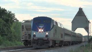 New Buffalo (MI) United States  City new picture : Amtrak Trains at New Buffalo, Michigan
