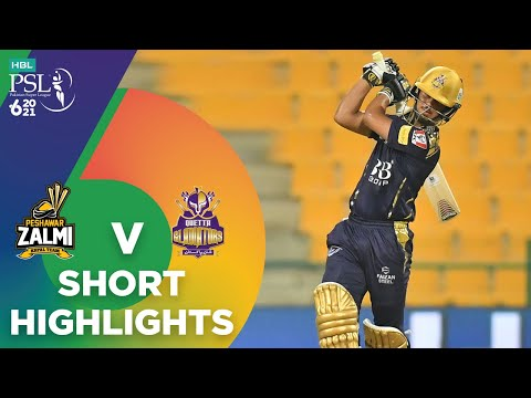 Short Highlights | Peshawar Zalmi vs Quetta Gladiators | Match 19 | HBL PSL 6 | MG2T