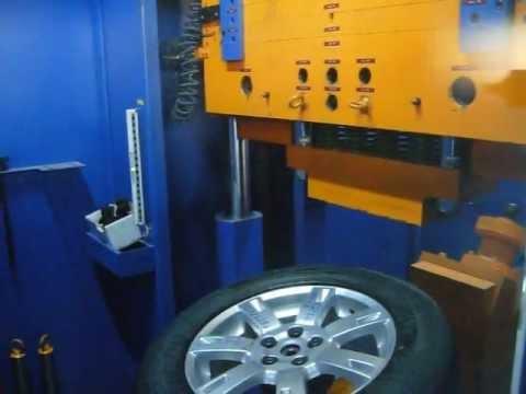 Проверка прочности диска WSP Italy W2356 APOLLON на удар спицы (Land Rover)