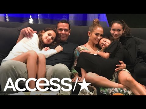 Jennifer Lopez & Alex Rodriguez Spend A Cozy Evening In With Their Kids | Access