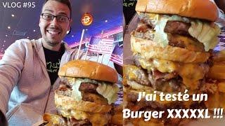 Video J'ai testé un burger XXXXL - VLOG #95 MP3, 3GP, MP4, WEBM, AVI, FLV Oktober 2017