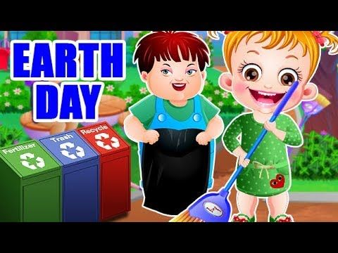 Video of Baby Hazel Earth Day