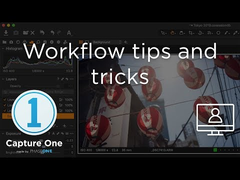 Workflow Tips and Tricks | Webinar | Capture One 12
