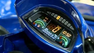 6. CFMoto CF500 Classic - Electronic Dash