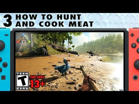 3: How To Hunt And Cook Meat - The Ark Switch Survival Guide