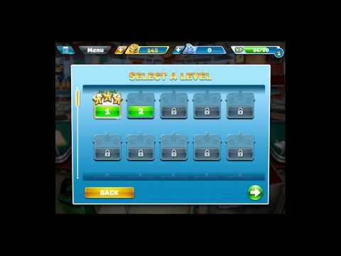 Cooking Fever [iPad Gameplay] Levels 1-2