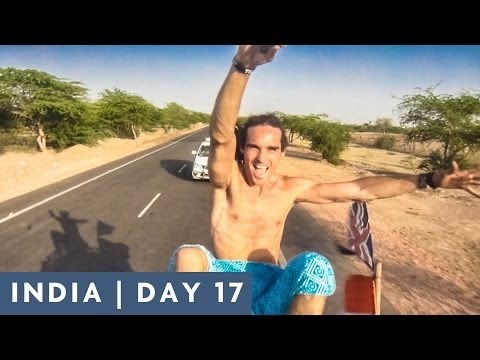 RIDING ON THE ROOF | DAY 17 INDIA ADVENTURE