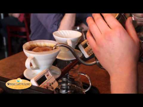 Coffee - Whole Latte Love visits Joe Bean Coffee Roasters. Join Owner/Roaster Ben Turiano as he shows us his technique and discusses the art of Pour Over coffee. Joe ...