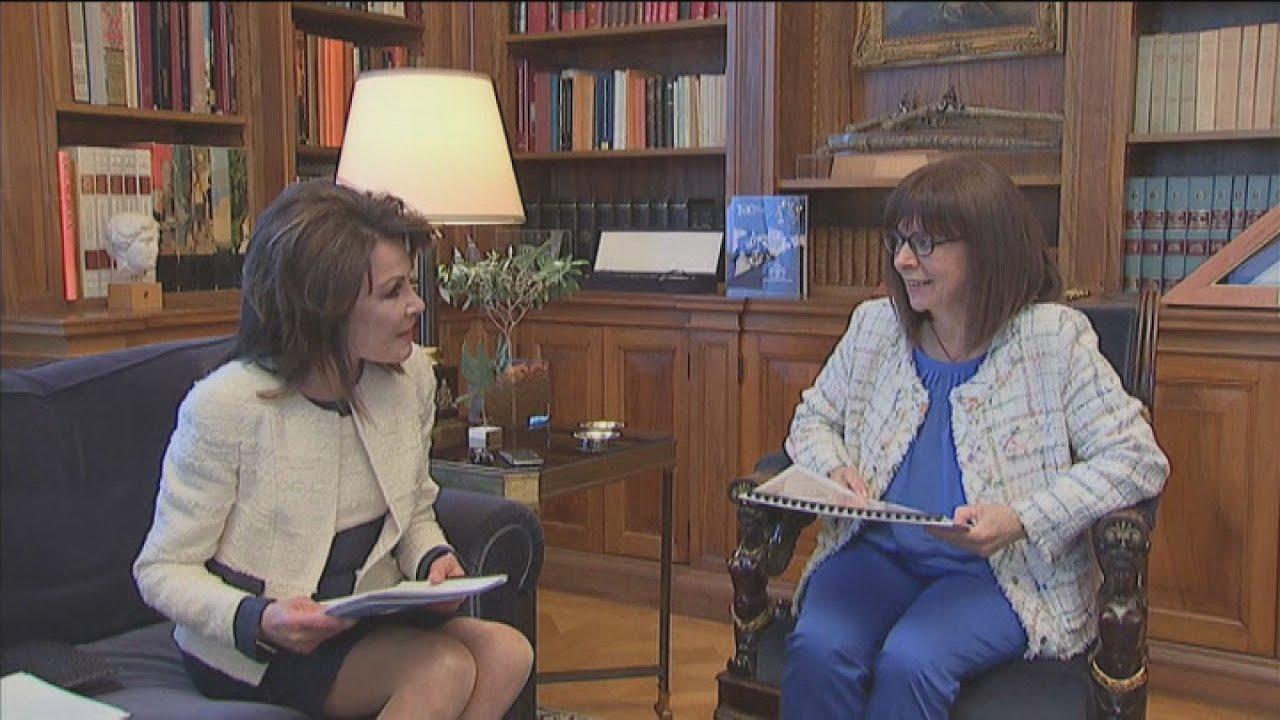 Συνάντηση της  ΠτΔ με την πρόεδρο της επιτροπής «Ελλάδα 2021 Γιάννα Αγγελοπούλου