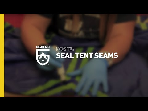 How to Seal Tent Seams with Seam Grip
