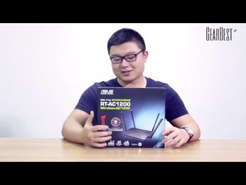 Gearbest Review: ASUS RT-AC1200 Wireless Router review - Gearbest.com