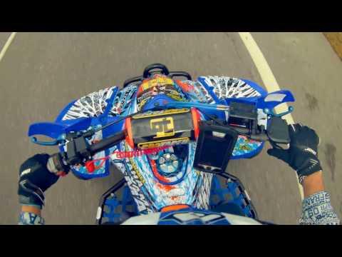 Test Drive Yamaha YFM 350X Warrior