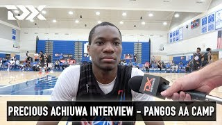 Precious Achiuwa Interview - Pangos All - American Camp