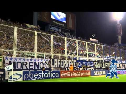 Video - HINCHADA HD | Velez 1 Vs River 1 | Transición 2014 | Fecha 15 - La Pandilla de Liniers - Vélez Sarsfield - Argentina