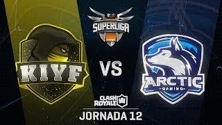 SUPERLIGA ORANGE - KIYF VS ARCTIC - Jornada 12 - #SuperligaOrangeCR12