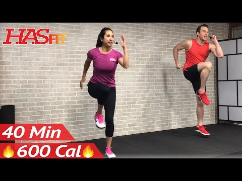 40 Minute Tabata Cardio HIIT Workout No Equipment Full Body at Home Interval Training for Fat Loss
