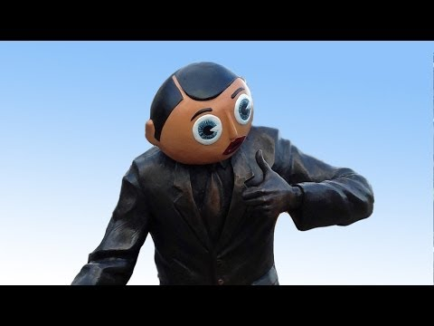 FRANK SIDEBOTTOM STATUE UNVEILING CELEBRATIONS
