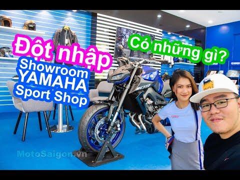 Đột nhập Yamaha Sport Shop cửa hàng bán xe moto MT-09 XSR900 kèm giá bán - Thời lượng: 17 phút.