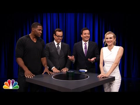 Catchphrase with Michael Strahan and Diane Kruger