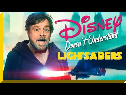 Disney Doesn't Understand Lightsabers