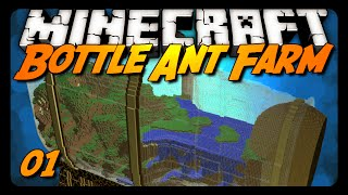 Minecraft | Bottle Ant Farm Survival - 01 - THE ORDER OF STONE!