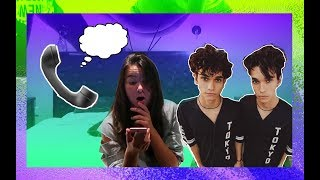 CALLING THE DOBRE TWINS  *REAL NUMBER*