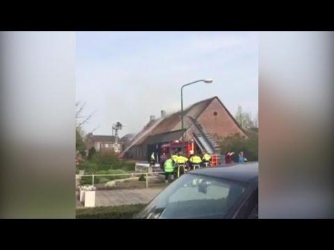 Gewonde bij brand Berghem