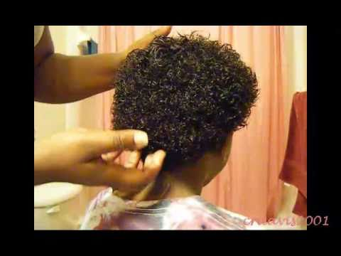 comment appliquer kinky curly