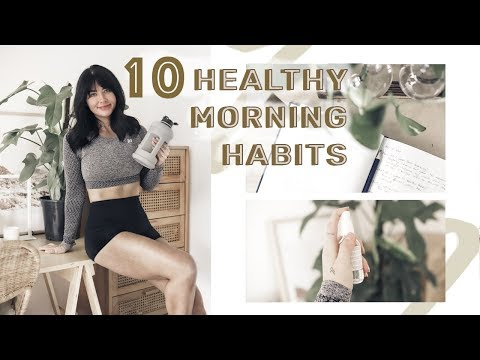 10 Things You Should Do EVERY DAY For A HEALTHIER + HAPPIER YOU