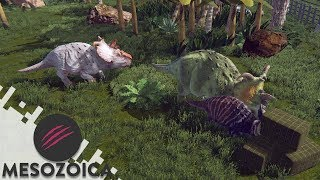 THE PACHYRHINOSAURUS EXHIBIT - MESOZOICA (Gameplay)