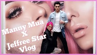 JEFFREE STAR COSMETICS x MANNY MUA COLLAB VLOG