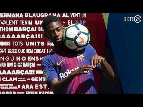 ¿Podrá Dembélé con el fantasma de Neymar?