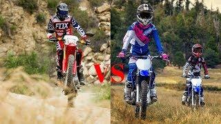7. WOW!!! Comparison Specifications-2018 Honda CRF® 250L VS 2018 Yamaha TT R 110E