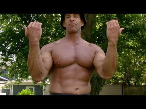 underhand - http://www.scoobysworkshop.com/homeWorkoutIntro.htm In this video I'm going to show you how to do chinups, also called underhand grip pullups. When you do th...