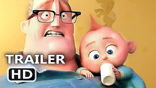 Video INCREDIBLES 2 Official Trailer (2018) Animation, Superhero Team Movie HD MP3, 3GP, MP4, WEBM, AVI, FLV Juni 2018