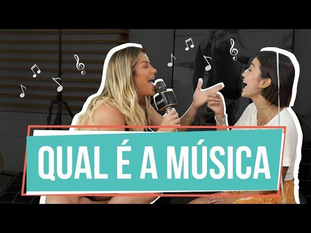 QUAL É A MÚSICA COM MANU GAVASSI | GIOH - Giovanna Ewbank