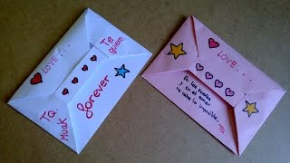 Origami  Sobre para carta o carta desplegable