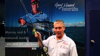 "Gary Howard Aussie Natives 6'2"" Goodoo & Barramundi 10-17lb baitcast rods"