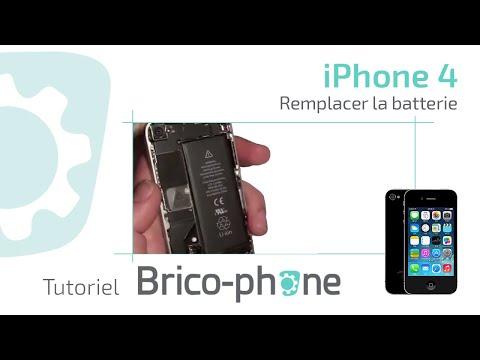 comment reparer une batterie iphone 4