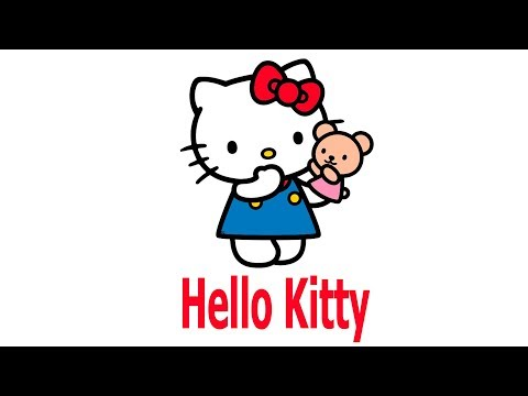 How to draw hello kitty hello kitty easy draw tutorial for Ciao youtube