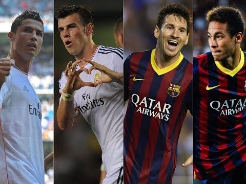 Cristiano Ronaldo ● Gareth Bale vs Leo Messi ● Neymar | Goals Battle | HD 1080p