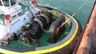 Video Berge Bureya, SMIT tugboats and KRVE boatmen at the Port of Rotterdam. MP3, 3GP, MP4, WEBM, AVI, FLV Desember 2018