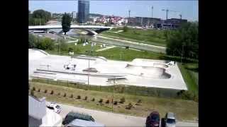 30 godzin na skateparku w Rzeszowie -  timelapse
