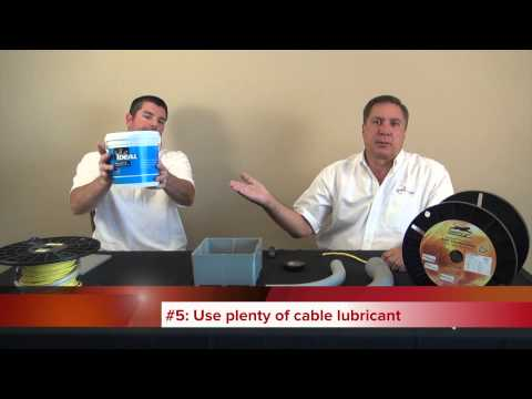 Video: Choosing a Conduit Size for Fiber Optic Cabling